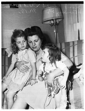Murder widow, 1951