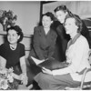 Alpha Omicron Pi...New Officers, 1951