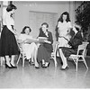 Society...Trojan Junior Auxiliary Membership Tea, 1951