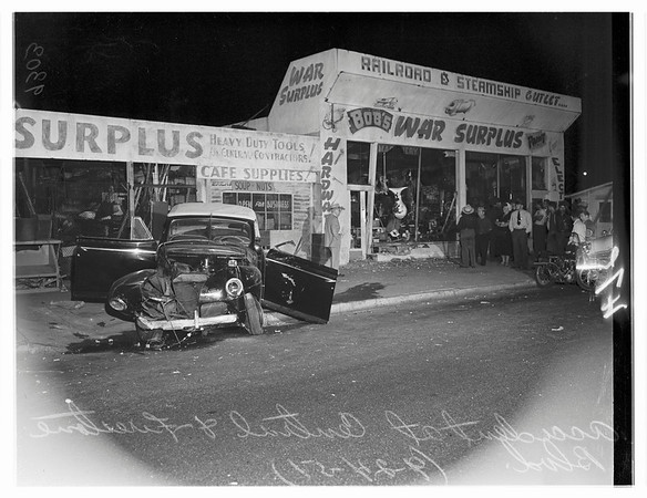 Traffic -- Central Avenue and Firestone Boulevard, 1951