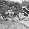 Santa Monica tennis, 1950