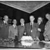 Eightieth birthday for Cavanah, 1951