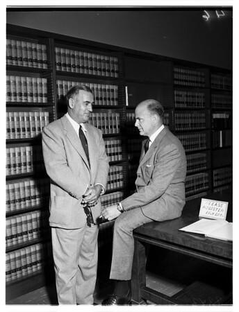 Howard court proceedings, 1951.