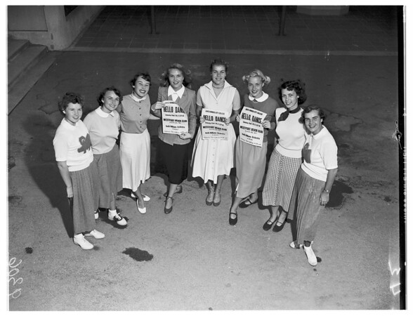 "Santa Monica College ""Hello Day"", 1951"