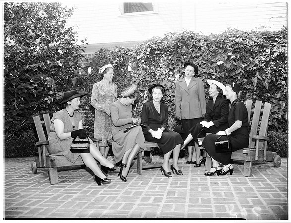 Society (Assistance League) National Officers, 1951