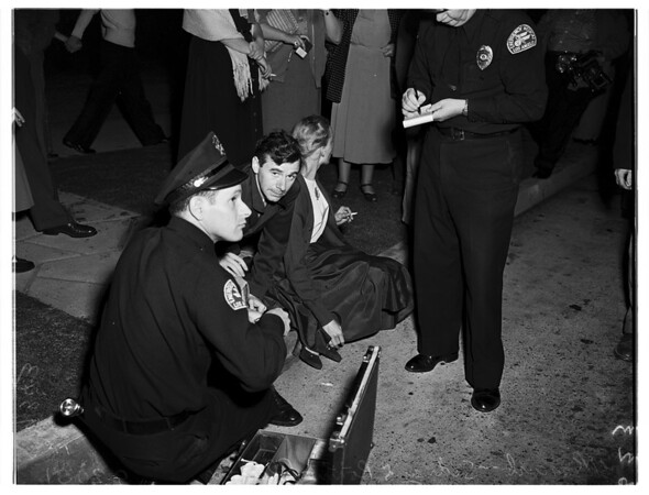 Traffic accident (Beverly Boulevard and Arden Avenue), 1951