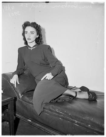 Calls Judge Son of a B*** (Bitch?), 1951