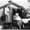 Mrs. Margaret Heath's birthday...Baldwin Park, 1951