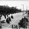 Motorcycle Officer's funeral, 1951