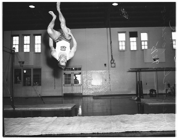 Roosevelt High School gymnasts, 1948