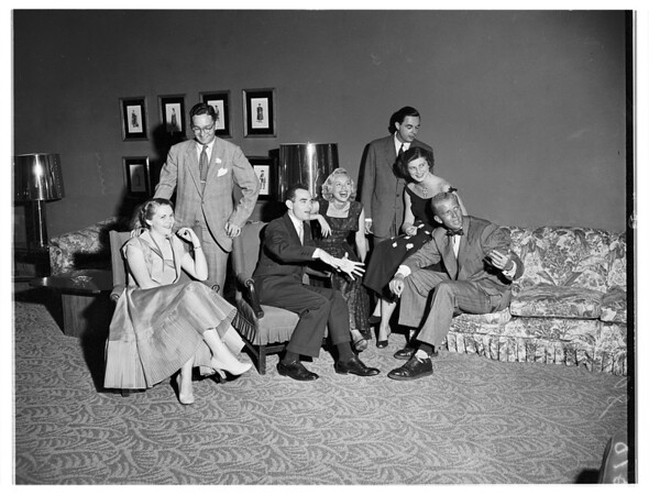 Beverly Hills Hotel Party, 1951