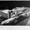 Sunset Crest building, 8400 Sunset Blvd., Los Angeles, 1956