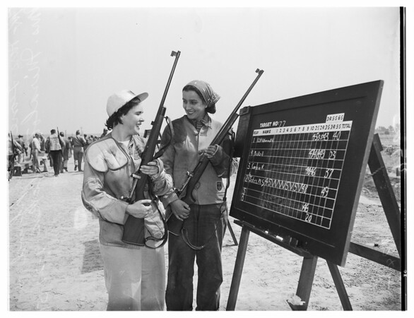 National Rifle Shoot, National Rifle Association matches, 1951 dfghd