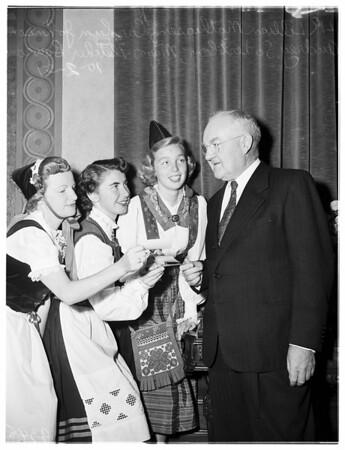 Leif Erickson Day, 1951