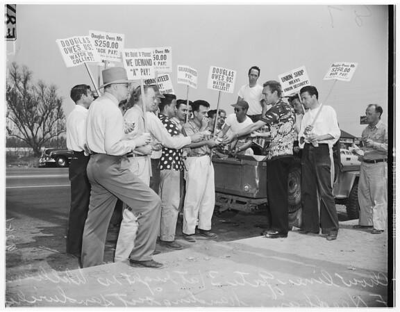 Douglas strike, Long Beach, 1951