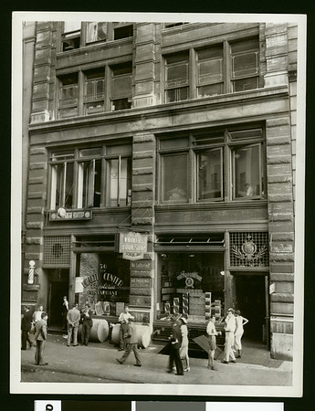 Communist Party of America headquarters, 13th St., New York City, 1934