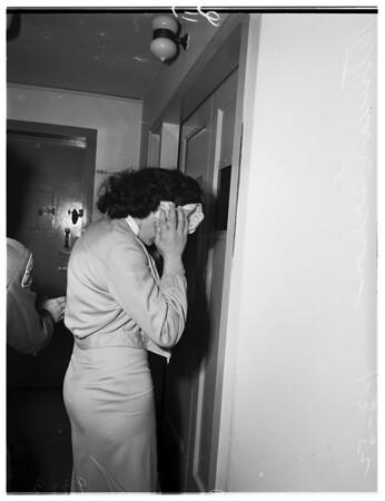 Burglar sentence, 1952.