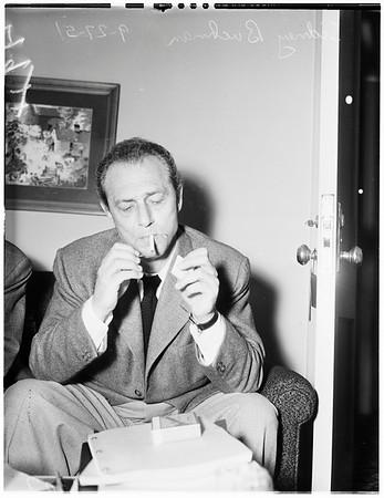Ambassador Hotel interview, 1951