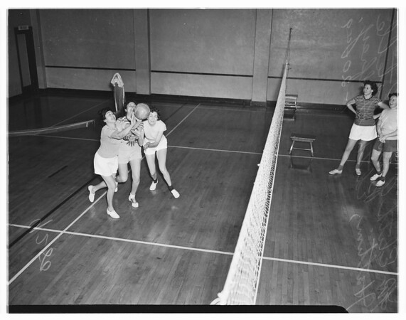 Volleyball, Young Women's Christian Association, 1949