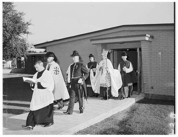 Sanitarium Dedication (Santa Teresita), 1951