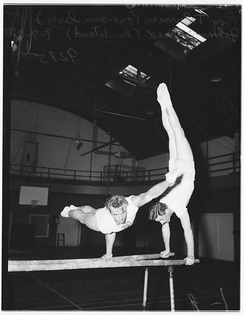 Hollywood Athletic Club gymnastics, 1948