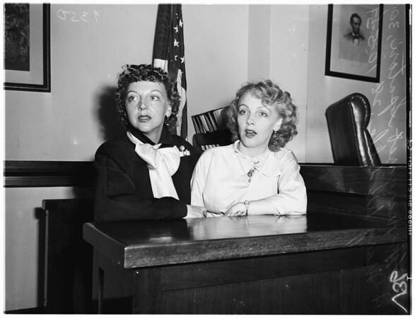 Double divorce case, 1951