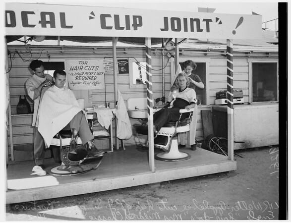 Douglas strike...Long Beach, 1951