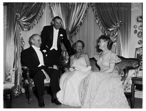 Assembly Ball (Cocktail Parties), 1948.