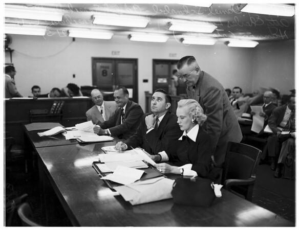 Show Case Hearing (Judge McKay's Court), 1951