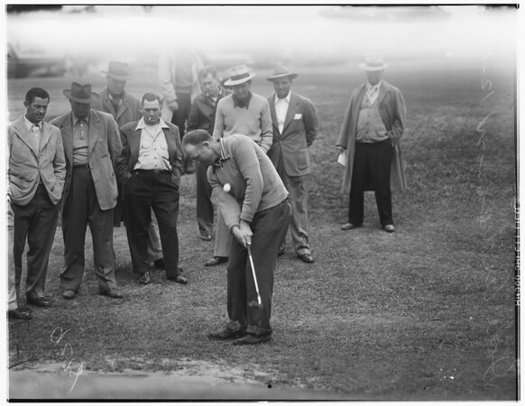 Fourth annual Montebello golf tourney, 1948