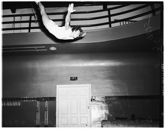 Hollywood Athletic Club gymnastics, 1948