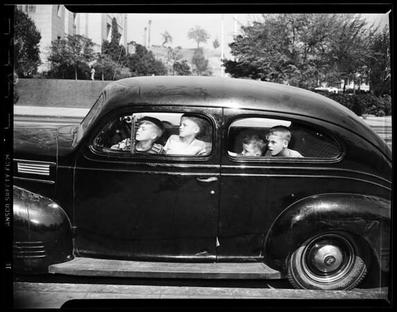 Lost kids, 1951.