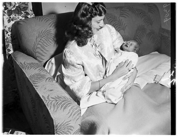 Veterans Baby, 1951