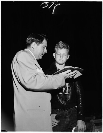 Billy Graham and Sawdust Trail, 1951