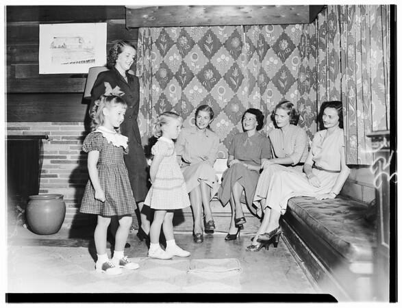 Sandpipers (Badminton Club Manhattan Beach), 1951