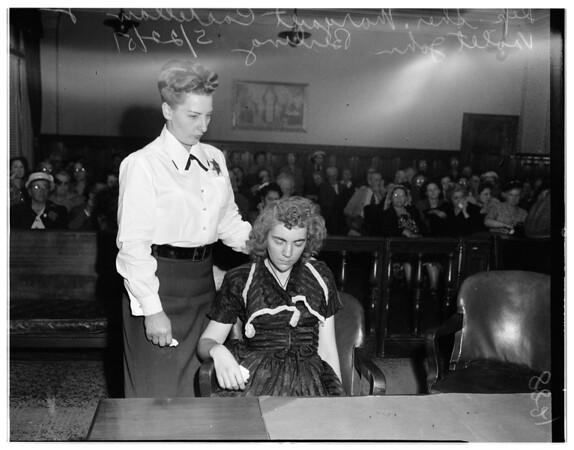 Violet Berling, 1951