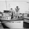 Newport fishing, 1949