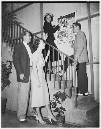 Society (group planning annual dance of University Club), 1951