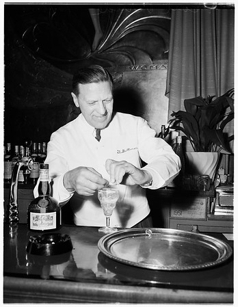 Cocktail contest, 1951