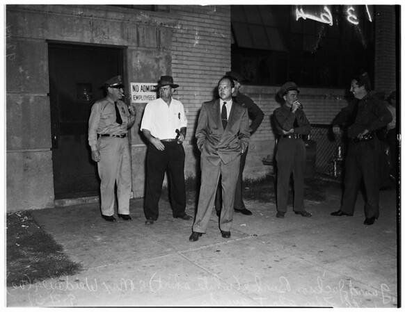 Vernon Plant strike, 1951