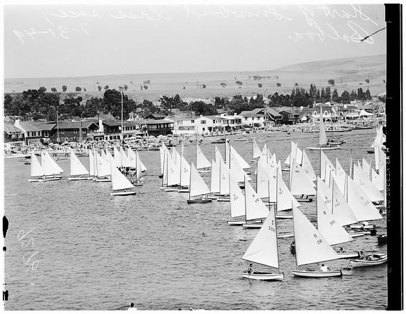 "Yachts ""Snowbird"", 1949"