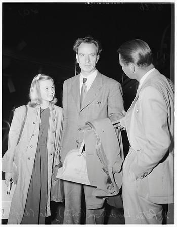 Lindstrom arrival (International Airport), 1951