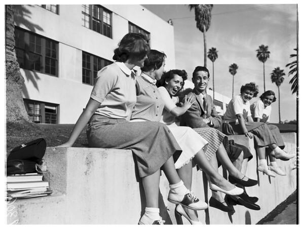 """Santa Monica College """"Hello Day"""", 1951"""