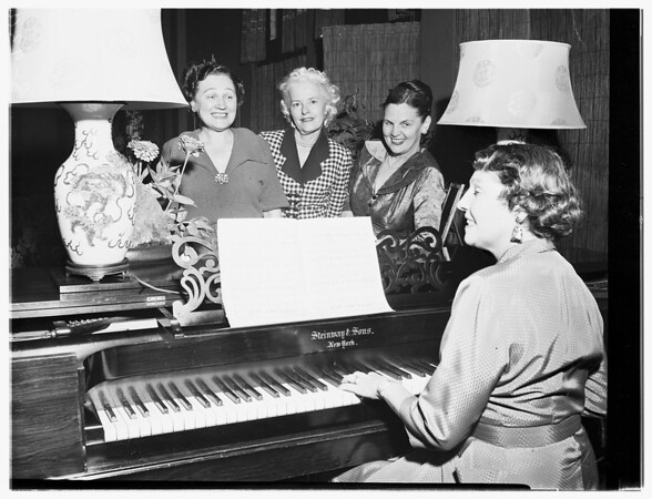 Society (Glendale Symphony Orchestra), 1951