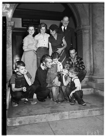 Hastings Family Reunion at Juvenile Hall, 1951