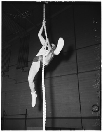 Los Angeles City College gymnasts, 1948