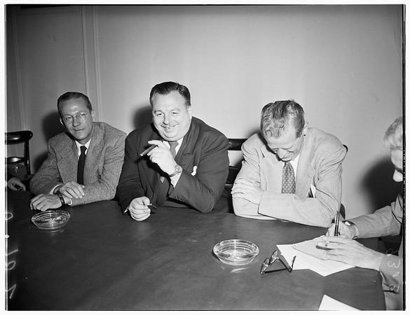 Interview...Biltmore Hotel, 1951