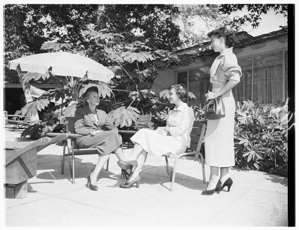 Society...Santa Monica Auxiliary of Children's Hospital, 1951.