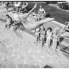 Diving at Country Club Hotel, 1949