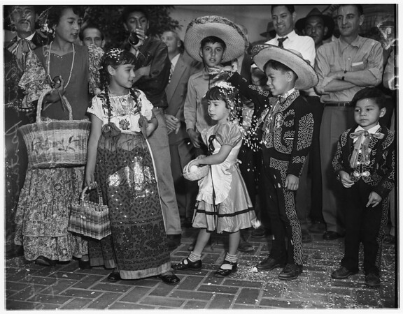Los Angeles birthday celebration, 1951